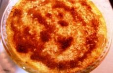 tarta de manzana con almendra