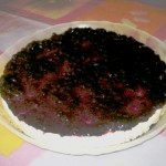 tarta queso arandanos