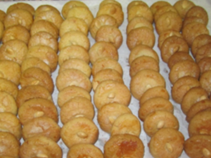Mantecados de yema