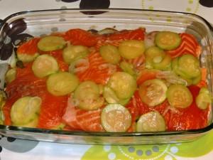 lasaña de verduras y salmon1