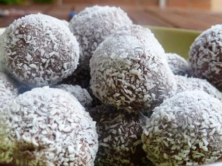 trufas chocolate y mascarpone
