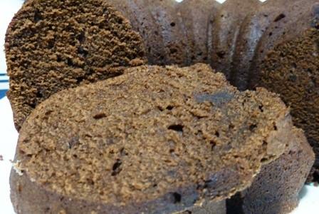 bizcocho velvet de chocolate