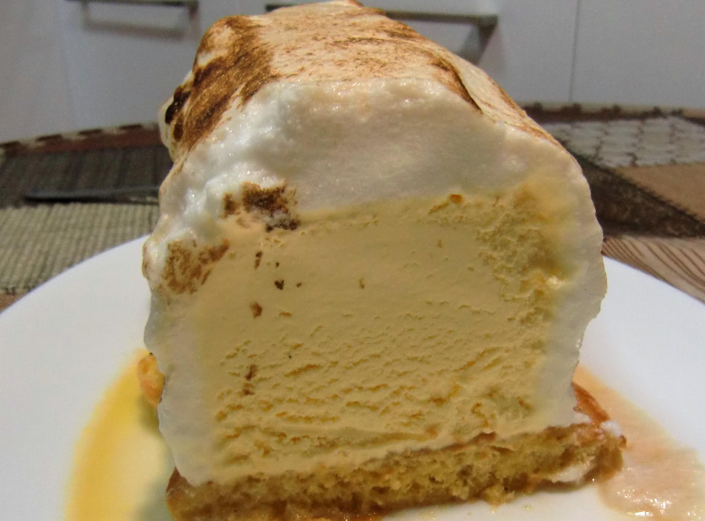 Soufflé de helado