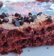 tarta de dulce de leche. chocotorta argentina