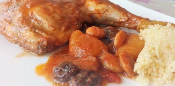 pollo a la moruna